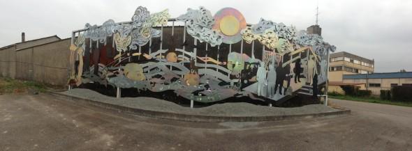 pano mur Jédelé